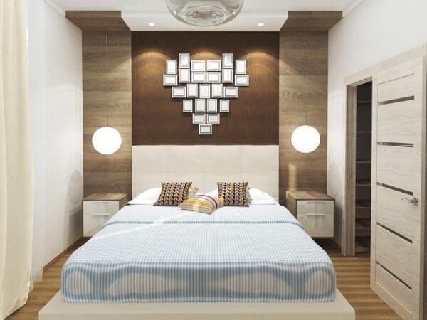 Nhà chung cư đẹp 60m2 có phòng ngủ đối xứng