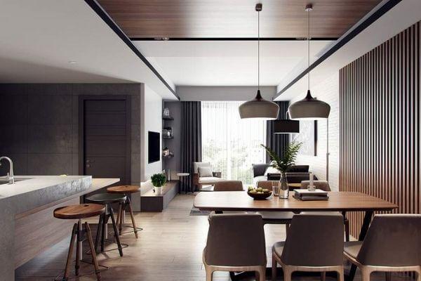 Nhà chung cư đẹp 60m2 dành cho bạn