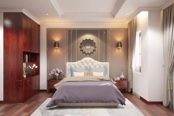 Những mẫu phòng ngủ đẹp theo phong cách tân cổ điển