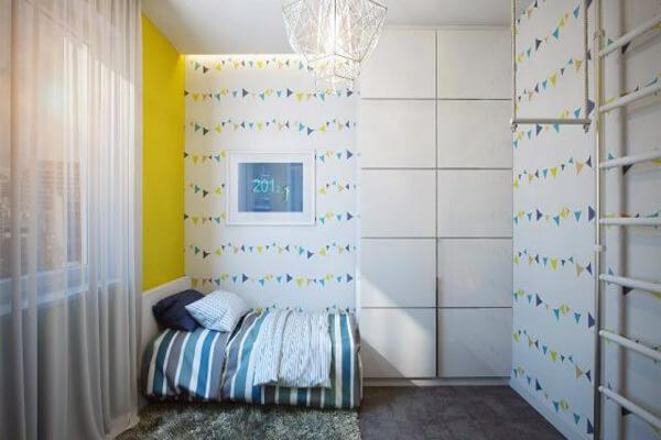 Phòng ngủ cho một bé nhỏ nhà bạn