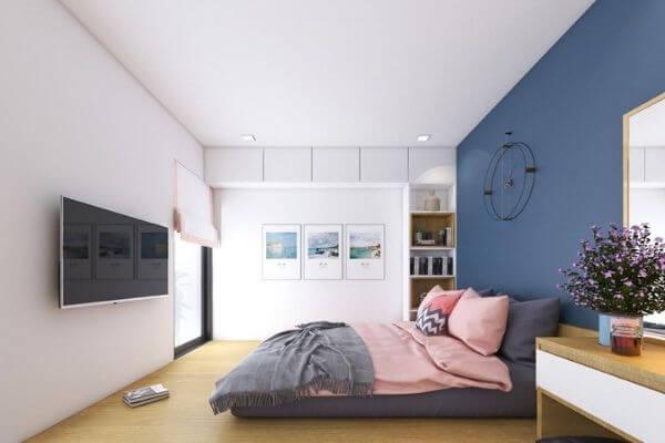 Phòng ngủ của chung cư hiện đại