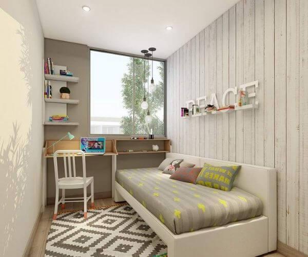 Phòng ngủ nhỏ dành cho một người