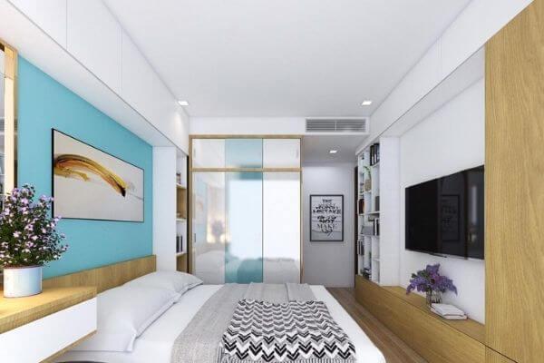 Phòng ngủ thứ hai của chung cư hai phòng