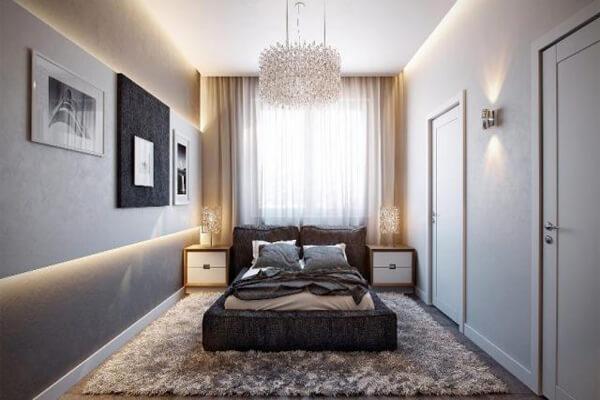 Phòng ngủ vừa yên tĩnh, vừa mang nét hiện đại