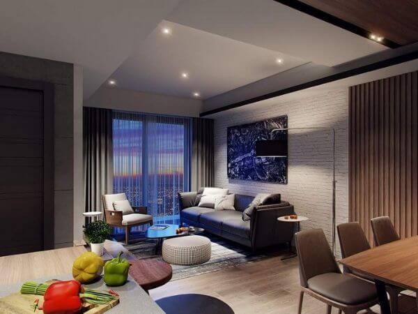 Sưu tầm những mẫu nội thất căn hộ chung cư 60m2 đẹp