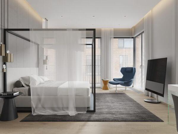 Thiết kế nhà 90m2 cho phòng ngủ nhà bạn