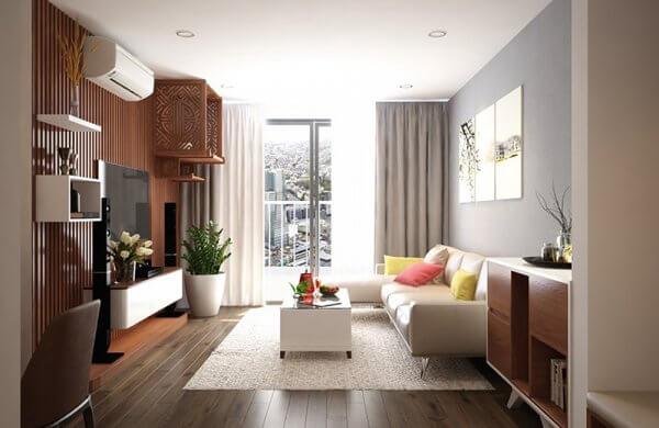 Thiết kế nội thất phòng khách dành cho những nhà chung cư đẹp