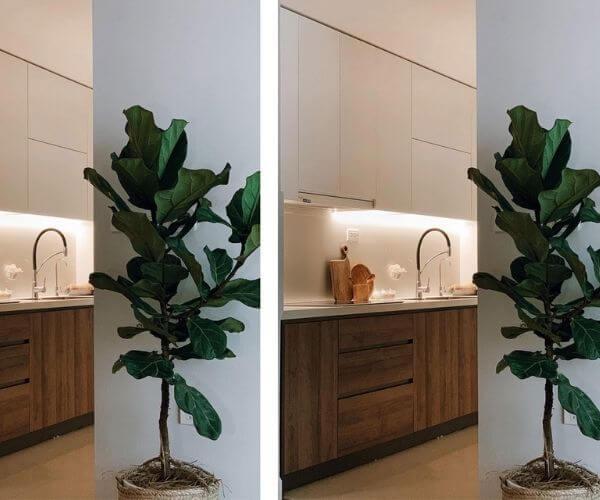 Tổng hợp thiết kế chung cư 70m2 đẹp nhà bếp