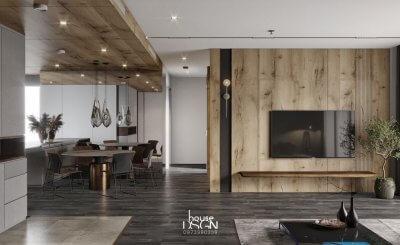 Top 6 mẫu thiết kế nội thất chung cư 90m2 sang trọng và tối ưu nhất