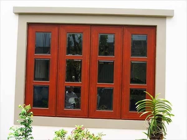 Chọn một số mẫu cửa sổ gỗ 4 cánh đẹp nhất