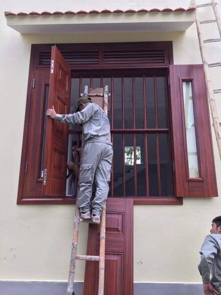 Mẫu cửa sổ 4 cánh cho nhà diện tích lớn