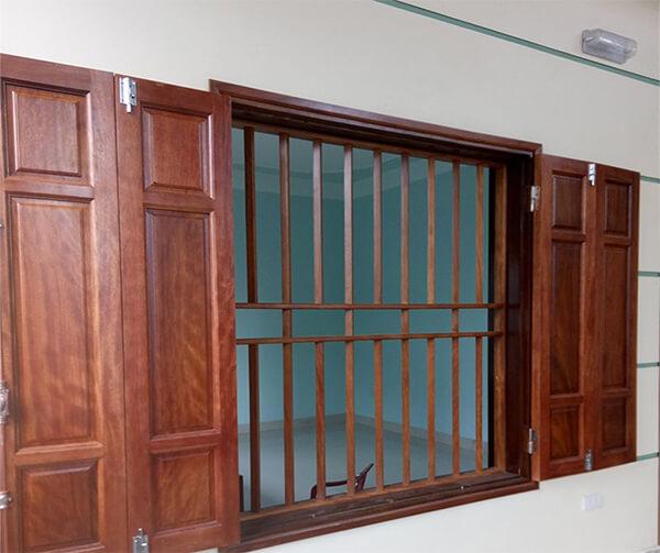 Những mẫu cửa sổ gỗ 4 cánh đẹp nhất
