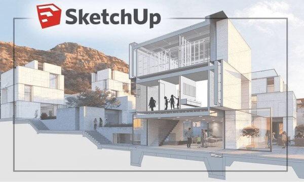 Sketchup - Phần mềm thiết kế nhà 3D chất lượng