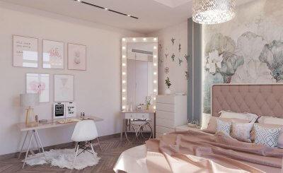 Tham khảo 10 mãu son phòng ngủ màu hòng xinh xán dẽ thuong